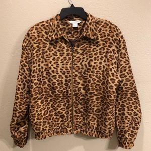 🔴5 for $15🔴 Melrose studio Vintage bomber jacket